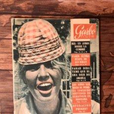 Coleccionismo de Revista Garbo: REVISTA GARBO, NUMERO 375, 21 DE MAYO DE 1960, (EDICIONES GARBO). Lote 243025120