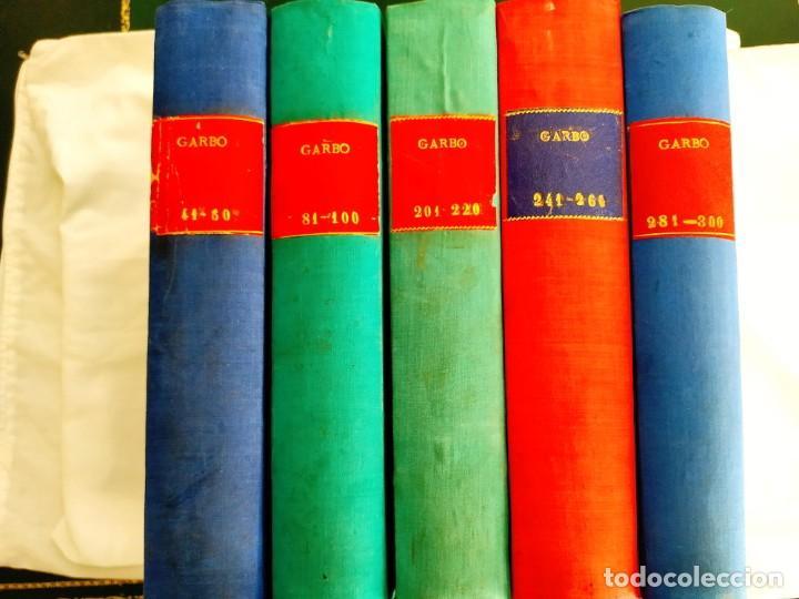REVISTA GARBO - TOMOS 1953 - 1958 (Coleccionismo - Revistas y Periódicos Modernos (a partir de 1.940) - Revista Garbo)