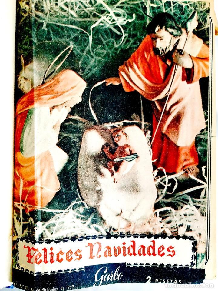Coleccionismo de Revista Garbo: REVISTA GARBO - TOMOS 1953 - 1958 - Foto 2 - 244562190