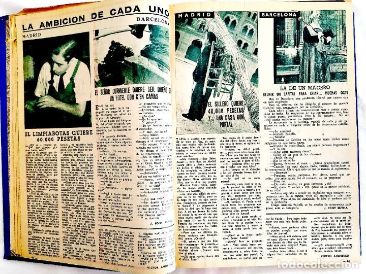 Coleccionismo de Revista Garbo: REVISTA GARBO - TOMOS 1953 - 1958 - Foto 6 - 244562190