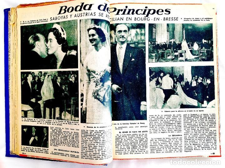 Coleccionismo de Revista Garbo: REVISTA GARBO - TOMOS 1953 - 1958 - Foto 7 - 244562190