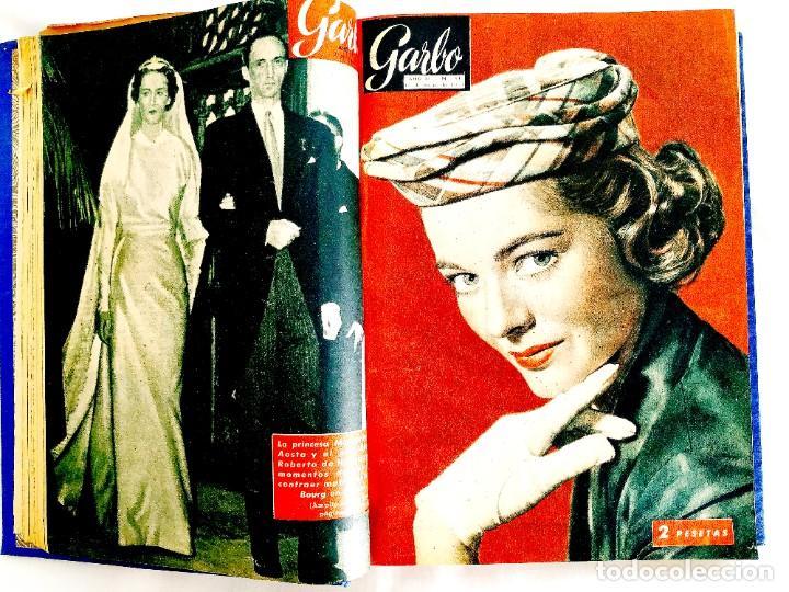 Coleccionismo de Revista Garbo: REVISTA GARBO - TOMOS 1953 - 1958 - Foto 9 - 244562190