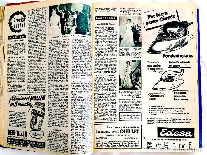 Coleccionismo de Revista Garbo: REVISTA GARBO - TOMOS 1953 - 1958 - Foto 10 - 244562190