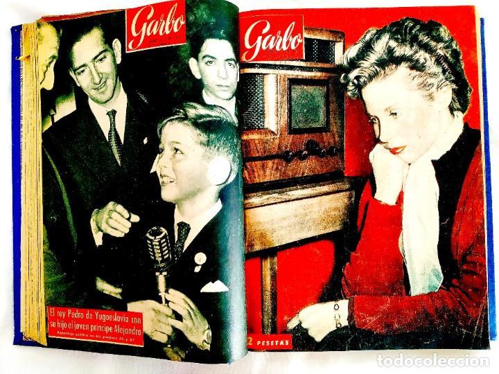 Coleccionismo de Revista Garbo: REVISTA GARBO - TOMOS 1953 - 1958 - Foto 11 - 244562190
