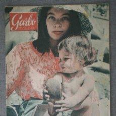 Coleccionismo de Revista Garbo: REVISTA GARBO N.º 378 1960 PASTERNAK, SOFIA LOREN, JACQUES CHARRIER, ONASIS, POPEYE. Lote 244708175