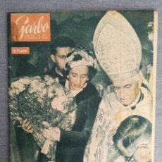 Coleccionismo de Revista Garbo: REVISTA GARBO N.º 404 1960 FABIOLA, ADOLF EICHMANN, PURÍSIMA DE MURILLO. MARISCAL PETAIN. Lote 244796660