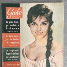 Coleccionismo de Revista Garbo: REVISTA GARBO N.º 379 1960 SAMMY DAVIES Y MAY BRITT, CHERYL CRANE, MARIE BESNARD, YUL BRYNNER. Lote 244796930
