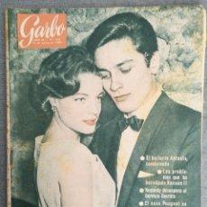 Coleccionismo de Revista Garbo: REVISTA GARBO N.º 418 1961 ANTONIO BAILARÍN, HASSAN II, ELISABETH TAYLOR, FALLERAS VALENCIA. Lote 244805845