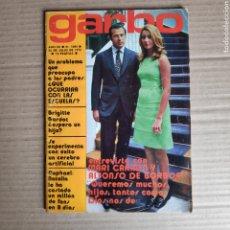 Coleccionismo de Revista Garbo: N GARBO 1004 ESCUELA PUBLICA O PRIVADA FESTIVAL CINE SAN SEBASTIAN NATI MISTRAL JANE BIRKIN BELMONDO. Lote 245548035