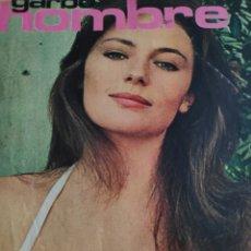 Coleccionismo de Revista Garbo: GARBO HOMBRE 6 VUELO SIN MOTOR JACKIE BISSET POR FIN EL COCHE ELECTRICO. Lote 245572650