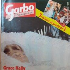 Coleccionismo de Revista Garbo: REVISTA GARBO Nº 1536. GRACE KELLY. TODAS LAS FOTOS DEL ÚLTIMO ADIÓS. SETIEMBRE DE 1992. Lote 247587450