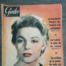 Colecionismo da Revista Garbo: REVISTA GARBO 178 1956 CLARA BOOTHE LUCE, CASTILLO VILLALBA DE LOS ALCORES, PEYRESQ, ANTONIO MATEU. Lote 248437055