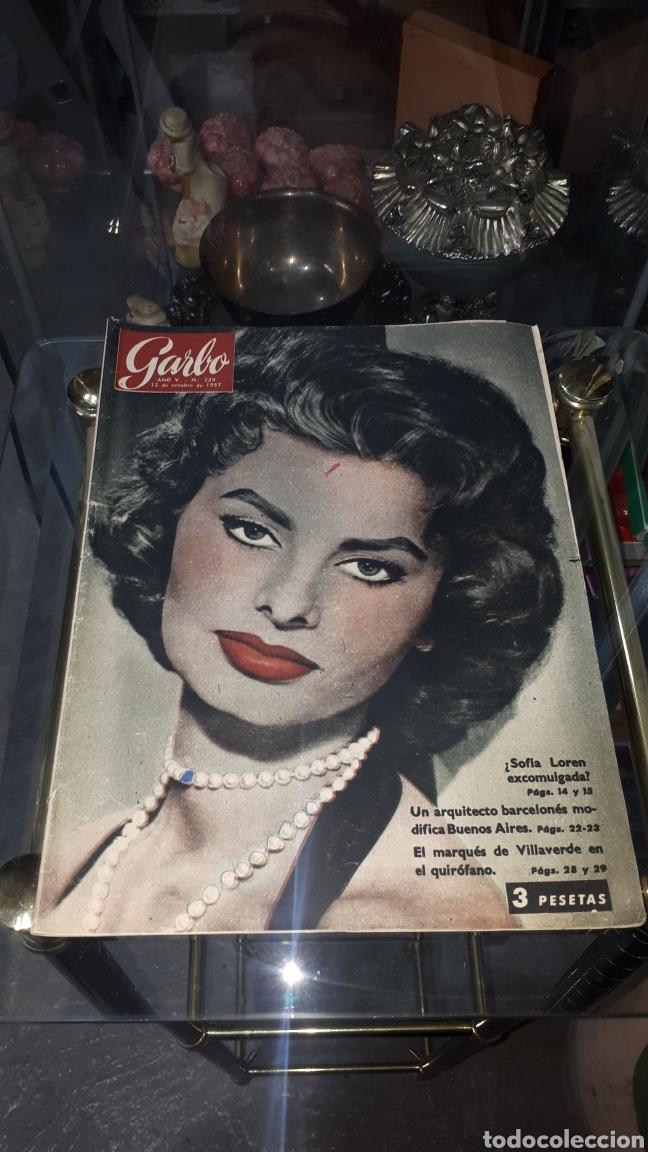 REVISTA GARBO AÑO V N° 239 12 DE OCTUBRE DE 1957 (Coleccionismo - Revistas y Periódicos Modernos (a partir de 1.940) - Revista Garbo)