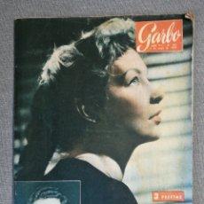 Colecionismo da Revista Garbo: REVISTA GARBO 321 1959 EVA BARTOK, MATHILDE CARRÉ, BRIGITTE BARDOT, ROGER VADIM. Lote 248745810
