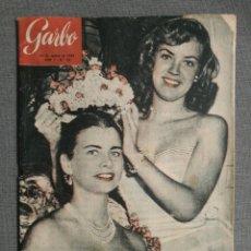 Colecionismo da Revista Garbo: REVISTA GARBO 23 1953 MISS FLORIDA, MARGARITA ELY, HANNA REUTER, RIO MANZANARES, TAZIO NUVOLARI. Lote 248791215