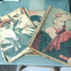 Coleccionismo de Revista Garbo: LOTE DE 15 REVISTAS GARBO.. Lote 253566055