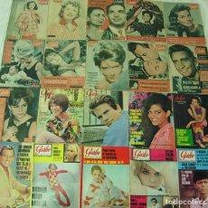 Coleccionismo de Revista Garbo: LOTE DE 20 REVISTAS GARBO 1954-1968 BRIGITTE BARDOT CLAUDIA CARDINALE COMPLETAS !!. Lote 253674655