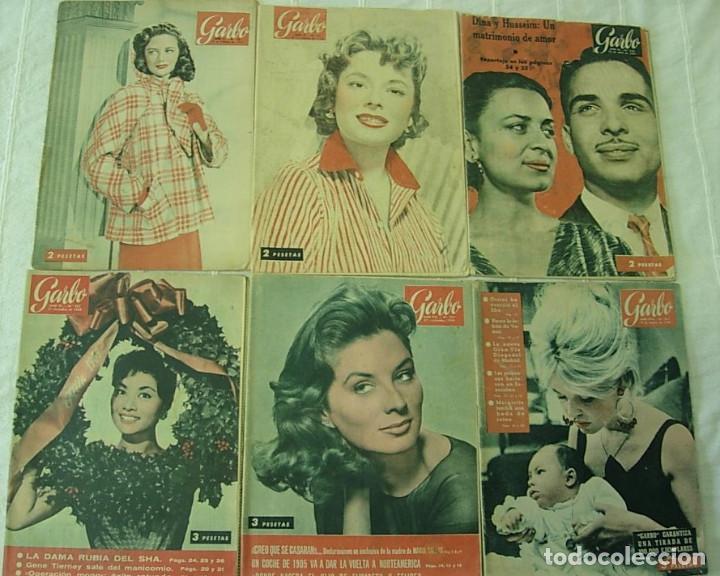 Coleccionismo de Revista Garbo: LOTE de 20 REVISTAS GARBO 1954-1968 BRIGITTE BARDOT CLAUDIA CARDINALE Completas !! - Foto 2 - 253674655