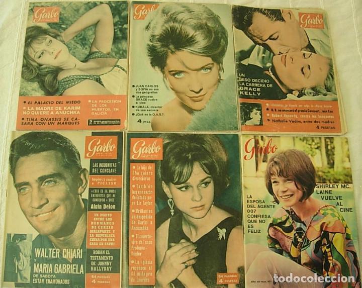 Coleccionismo de Revista Garbo: LOTE de 20 REVISTAS GARBO 1954-1968 BRIGITTE BARDOT CLAUDIA CARDINALE Completas !! - Foto 3 - 253674655