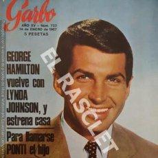 Coleccionismo de Revista Garbo: ANTIGUA REVISTA - GARBO - Nº 723. Lote 254426570