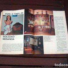 Coleccionismo de Revista Garbo: GARBO / SOLEDAD MIRANDA, MISS ESPAÑA 1969, BRIGITTE BARDOT, SACHA DISTEL, FRANCISCO FRANCO. Lote 254583155