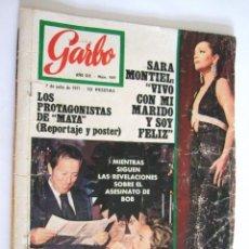 Coleccionismo de Revista Garbo: REVISTA GARBO Nº 949 - 1971 - SARA MONTIEL - PUBLICIDAD WHISKY DYC -. Lote 254752400