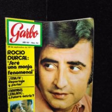 Coleccionismo de Revista Garbo: GARBO - Nº 961 - ROCIO DURCAL - PERET - MARIBEL LEBLANC. Lote 254939615