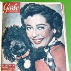Coleccionismo de Revista Garbo: LOTE 13 REVISTAS GARBO ENCUADERNADAS, OCTUBRE, NOVIEMBRE Y DICIEMBRE DE 1956. Lote 259948025