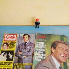 """Coleccionismo de Revista Garbo: 2 REVISTAS GARBO AÑOS 50""""S Y AÑOS 60""""S. Lote 260030460"""