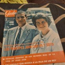 Coleccionismo de Revista Garbo: REVISTA, 22 DE JUNIO DE 1963 N536. Lote 261863630