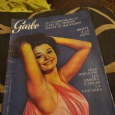 Coleccionismo de Revista Garbo: REVISTA GARBO N 647 DE 1965, RAFFAELA CARRA. Lote 261866280