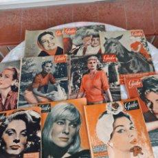Coleccionismo de Revista Garbo: LOTE DE 10 REVISTAS GARBO, 6 DE 1956 Y 4 DE 1958. Lote 261939345