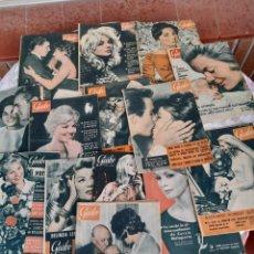 Coleccionismo de Revista Garbo: LOTE DE 14 REVISTAS GARBO, 4 DE 1960 ,9 DE 1961 Y 1 DE1962. Lote 261940510