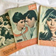 Coleccionismo de Revista Garbo: LOTE 9 EJEMPLARES DE REVISTA GARBO DE 1959/1961. REGALO DOS EJEMPLARES REVISTA SEMANAL CARETA.. Lote 262087815