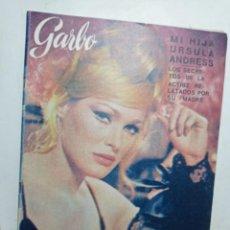 Coleccionismo de Revista Garbo: GARBO NÚMERO 681 AÑO 1966 URSULA ANDRESS. Lote 266072278