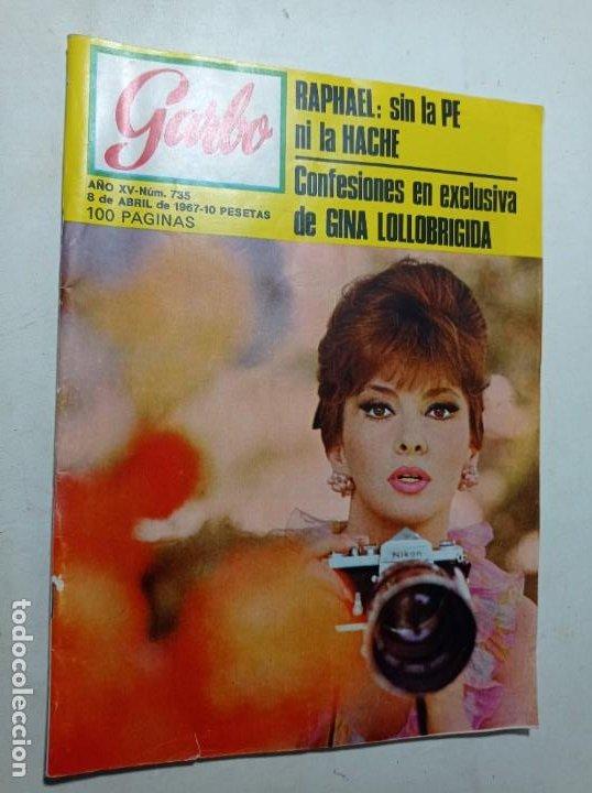 REVISTA GARBO NÚMERO 725 AÑO 1967 RAPHAEL GINA LOLLOBRIGIDA VER SUMARIO (Coleccionismo - Revistas y Periódicos Modernos (a partir de 1.940) - Revista Garbo)