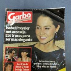 Coleccionismo de Revista Garbo: GARBO 1662 25 DE FEBRERO DEL 85 ISABEL PREYSLER RYAN O'NEAL. Lote 267268939