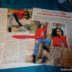 Colecionismo da Revista Garbo: RECORTE : LAS PICARDIAS DE LOLA FORNER. GARBO, MAYO 1983(#). Lote 271236463