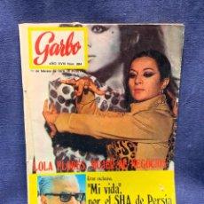 Coleccionismo de Revista Garbo: REVISTA GARBO Nº 884 1970 TITULAR LOLA FLORES MUJER DE NEGOCIOS 28X20CMS. Lote 276628443