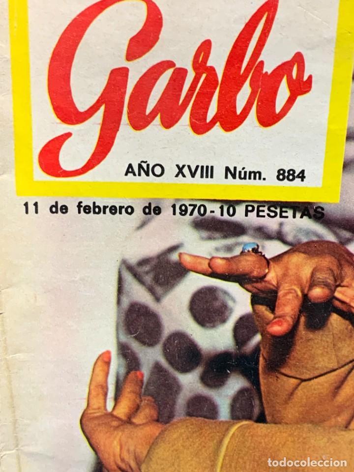Coleccionismo de Revista Garbo: REVISTA GARBO Nº 884 1970 TITULAR LOLA FLORES MUJER DE NEGOCIOS 28X20CMS - Foto 2 - 276628443