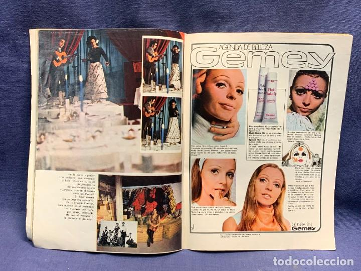 Coleccionismo de Revista Garbo: REVISTA GARBO Nº 884 1970 TITULAR LOLA FLORES MUJER DE NEGOCIOS 28X20CMS - Foto 6 - 276628443