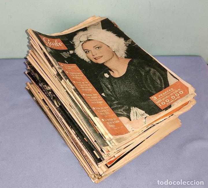 GRAN LOTE 48 NUMEROS DE REVISTA GARBO AÑOS 60 (Coleccionismo - Revistas y Periódicos Modernos (a partir de 1.940) - Revista Garbo)