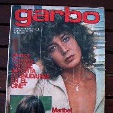 Coleccionismo de Revista Garbo: GARBO / MICKEY MOUSE Y PLUTO POSTER, MARISA PAREDES, FARAH DIBA, PEDRO RUIIZ, ORNELLA MUTI. Lote 278564323