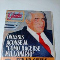 Coleccionismo de Revista Garbo: REVISTA GARBO. Lote 284589768