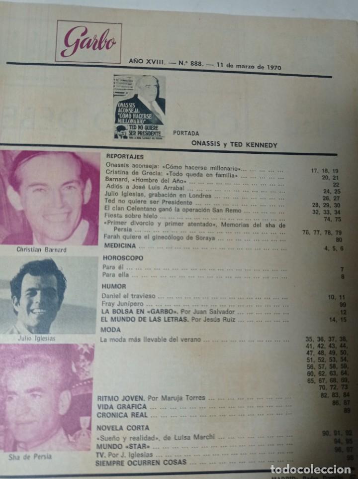Coleccionismo de Revista Garbo: Revista garbo - Foto 2 - 284589768