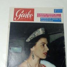 Coleccionismo de Revista Garbo: REVISTA GARBO. Lote 284589938