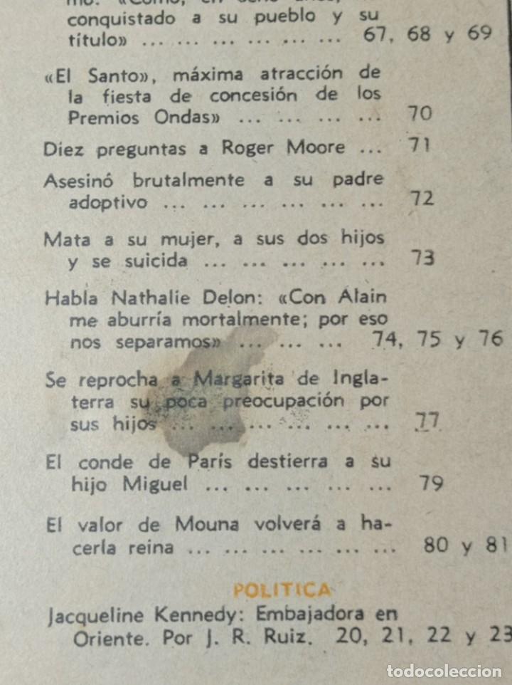 Coleccionismo de Revista Garbo: Revista garbo - Foto 3 - 284590038