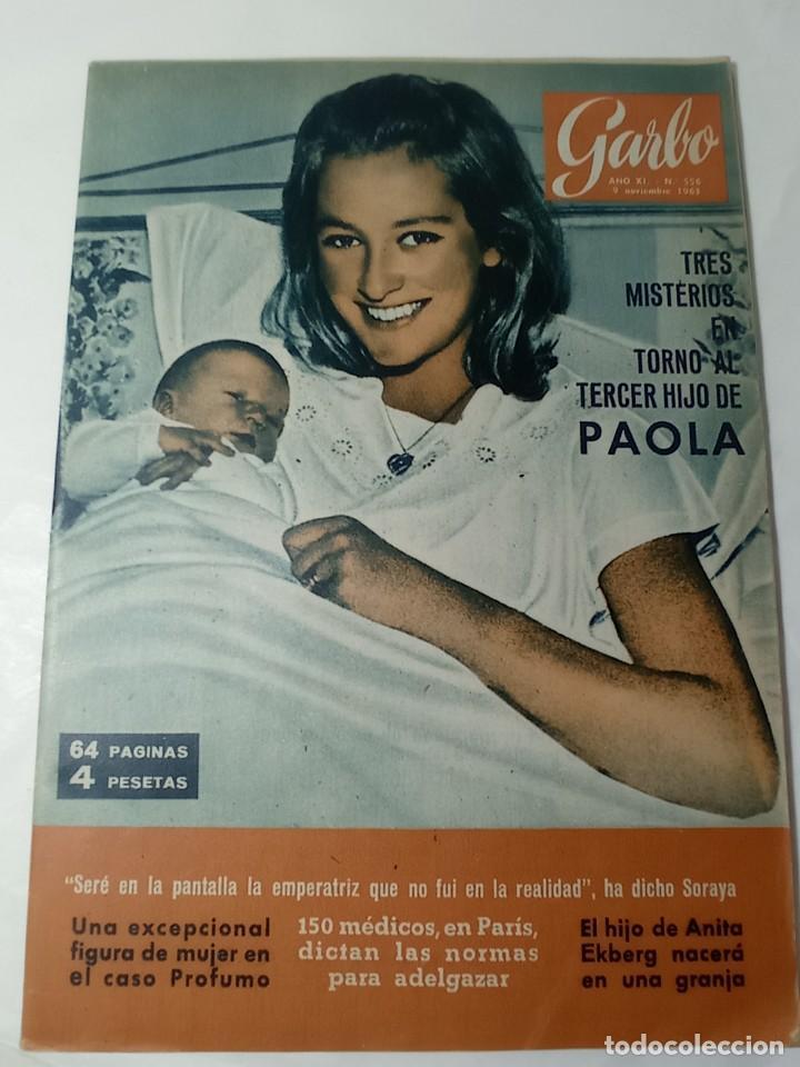 REVISTA GARBO (Coleccionismo - Revistas y Periódicos Modernos (a partir de 1.940) - Revista Garbo)