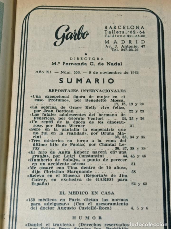 Coleccionismo de Revista Garbo: Revista garbo - Foto 3 - 284591973