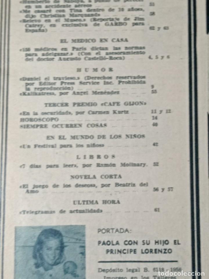 Coleccionismo de Revista Garbo: Revista garbo - Foto 4 - 284591973